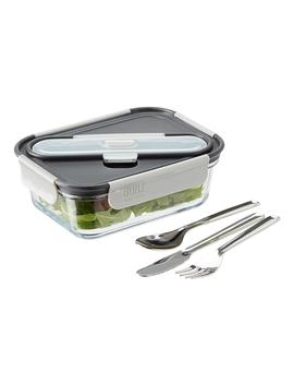 Built Ny 30 Oz. Gourmet Glass Bento Box by Container Store