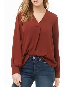Woven Surplice Top by Forever 21