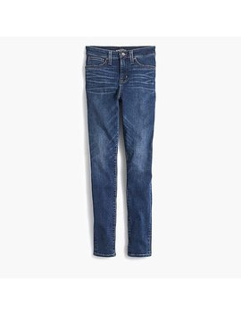 "10"" Highest Rise Curvy Skinny Jean In Dark Indigo Wash by J.Crew"
