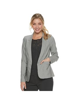 Juniors' Candie's® Suiting Blazer by Juniors' Candie's