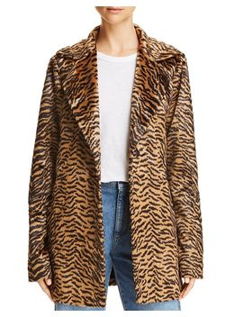 Hillary Faux Fur Jacket by Show Me Your Mu Mu