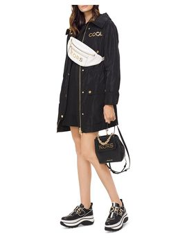 Embellished Anorak Jacket by Michael Kors
