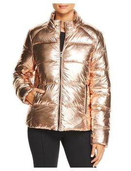Metallic Puffer Jacket by Marc New York Performance