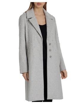 Embellished Coat by Badgley Mischka