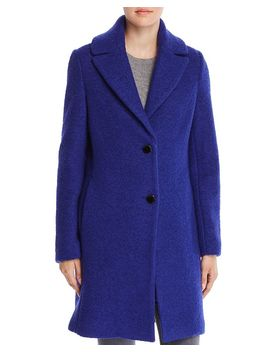 Tessa Bouclé Coat by T Tahari