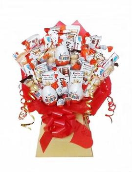 Kinder Chocolate Bouquet   Sweet Hamper   Christmas, Birthday, Easter, Special Occasions, Anniversary, Goodluck, Farewell, Get Well by Etsy