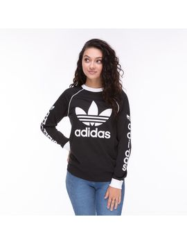 Womens Adidas Trefoil Long Sleeve Tee by Adidas