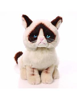 "Gund Grumpy Cat Stuffed Animal Plush, 9"" by Gund"