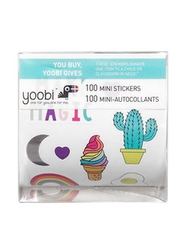 Yoobi™ Sticker Roll With Box Heck Yes! Mini Llama 100 Plus Pack by Yoobi