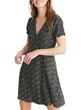 Button Wrap Dress by Madewell