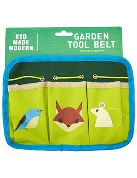 Kid Made Modern® Garden Tool Velcro Belt With 3 Pockets Forest... by Kid Made Modern