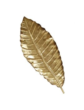 Stratton Home Decor Elegant Leaf Metal Wall Decor by Kohl's
