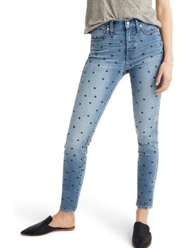 10 Inch High Waist Crop Skinny Jeans by Madewell