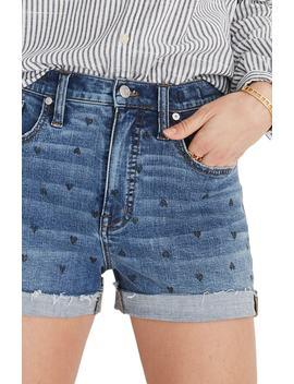 High Waist Denim Shorts by Madewell