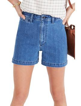 Emmett High Waist Denim Shorts by Madewell
