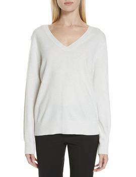 Weekend V Neck Cashmere Sweater by Vince