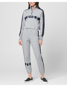 Jxjc Juicy Racer Stripe Terry Pullover by Juicy Couture
