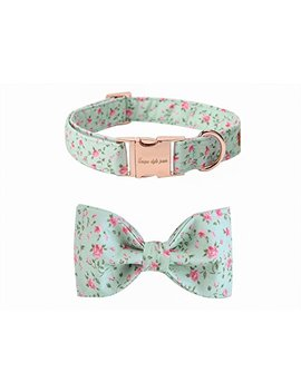 Usp Pet Soft &Comfy Bowtie Dog Collar Cat Collar Pet Gift Dogs Cats 6 Size 7 Patterns by Usp