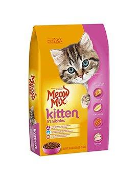 Meow Mix Dry Cat Food Kitten Li'l Nibbles by Meow Mix
