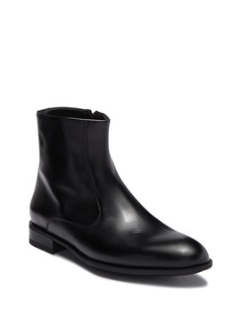 Ipolito Leather Zip Boot by Bruno Magli