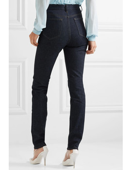 High Rise Slim Leg Jeans by Victoria Beckham