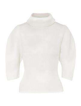 Bret Ribbed Merino Wool Turtleneck Sweater by Khaite