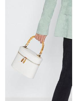 Bamboo Handle Structured Box Bag by Nasty Gal