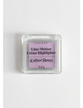 Lilac Motion Creme Highlighter by & Other Stories