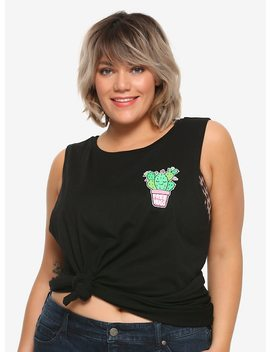 Free Hugs Cactus Girls Muscle Top Plus Size by Hot Topic