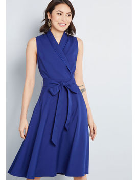 Workplace Worth Sleeveless Dress by Modcloth