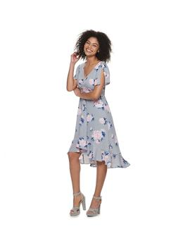 Juniors' Candie's® Ruffled Floral Midi Dress by Juniors' Candie's