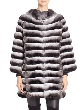 Chinchilla Fur Jacket by The Fur Salon