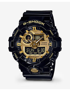 G Shock Black And Gold Watch by Express