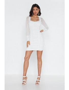 Gathered Cup Detail Mini Dress by Nasty Gal