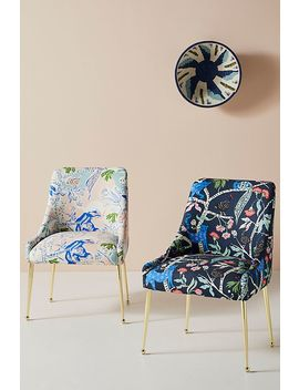 Midnight Jasmine Elowen Dining Chair by Emily Isabella