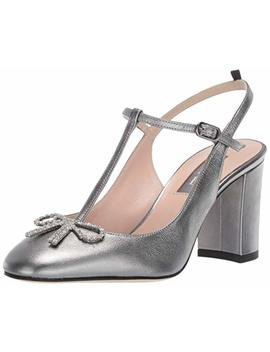 Sjp By Sarah Jessica Parker Women's Relic T Strap Slingback Black Heel by Sjp By Sarah Jessica Parker