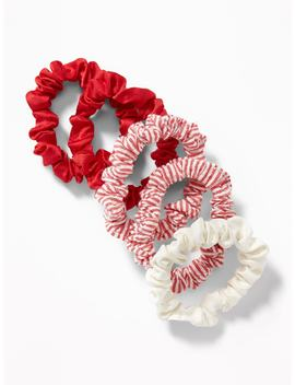 Satin Scrunchie 5 Pack For Women by Old Navy