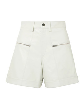 Cedar Leather Shorts by Isabel Marant