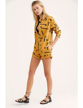 Warrior Bandit Romper by Free People
