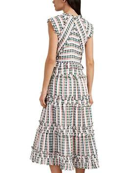 Tiered Tweed Dress by Proenza Schouler
