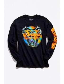 Nirvana Seahorse Long Sleeve Tee by Urban Outfitters