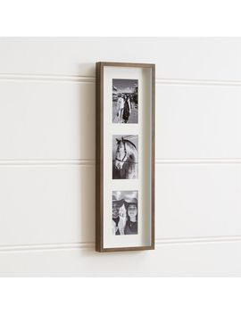 Brushed Antique Bronze 3 4x6 Frame by Crate&Barrel