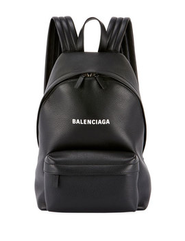Balenciaga Everyday Large Baltimore Leather Backpack by Balenciaga