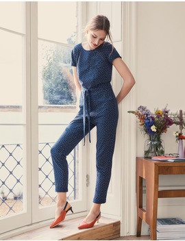 Caitlin Jersey Jumpsuit by Boden