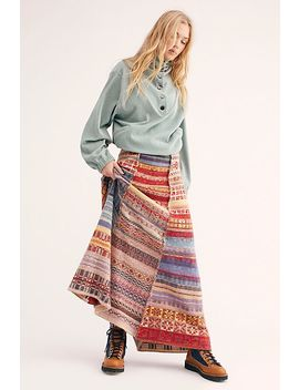 Met Your Match Maxi Skirt by Free People