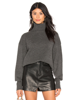 Drop Shoulder Turtleneck by Theory