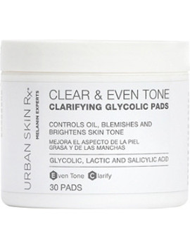 Clear & Even Tone Clarifying Glycolic Pads by Urban Skin Rx