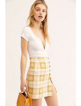 Northwest Mini Skirt by Free People