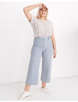 petite-emmett-wide-leg-crop-pants-in-herringbone-railroad-stripe by madewell