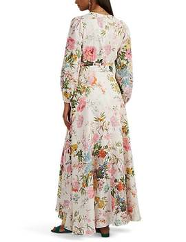 Juniper Floral Linen Dress by Zimmermann